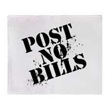 Post No Bills, Throw Blanket
