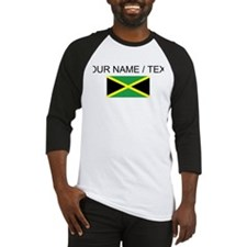 Custom Jamaica Flag Baseball Jersey