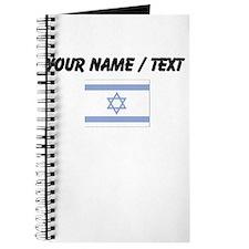 Custom Israel Flag Journal