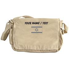 Custom Israel Flag Messenger Bag