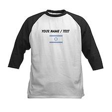Custom Israel Flag Baseball Jersey
