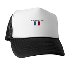 Custom France Flag Trucker Hat