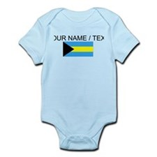 Custom Bahamas Flag Body Suit
