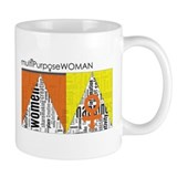 female symbols and words carry strength Small Mug