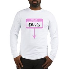Pregnant: Olivia Long Sleeve T-Shirt