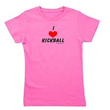 kickball.png Girl's Tee