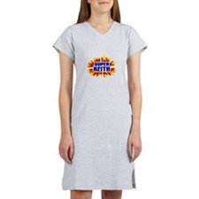 Keith the Super Hero Women's Nightshirt