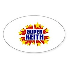 Keith the Super Hero Decal