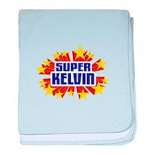 Kelvin the Super Hero baby blanket