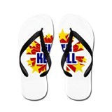 Kendall the Super Hero Flip Flops