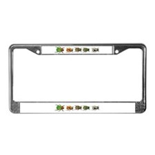 Beatle License Plate Frame