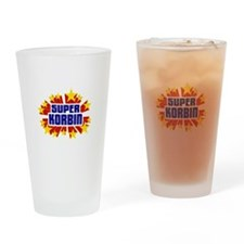 Korbin the Super Hero Drinking Glass