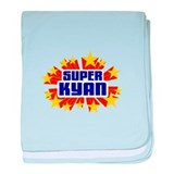 Kyan the Super Hero baby blanket