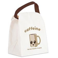 Chibi Caffeine Canvas Lunch Bag