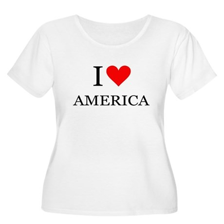 I Heart America Plus Size T-Shirt