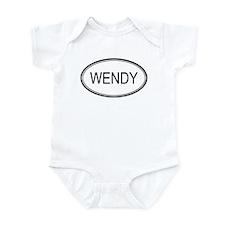 Wendy Oval Design Infant Bodysuit