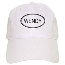 Wendy Oval Design Baseball Cap