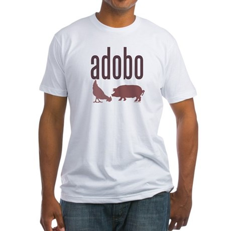 adobo Fitted T-shirt