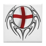 England: Tribal Arachnid Tile Coaster