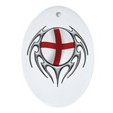 England: Tribal Arachnid Oval Ornament