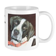 """He is your friend"" Mug"