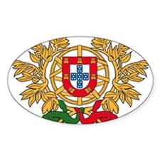 Portugal Coat of Arms Rectangle Decal