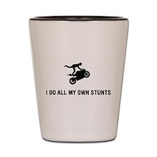 Stunt Rider Shot Glass