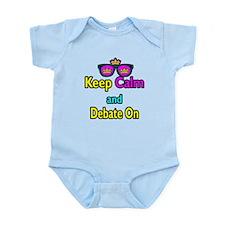 Crown Sunglasses Keep Calm And Debate On Infant Bo