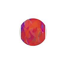 Orange Domination Mini Button (10 pack)