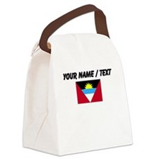 Custom Antigua and Barbuda Flag Canvas Lunch Bag