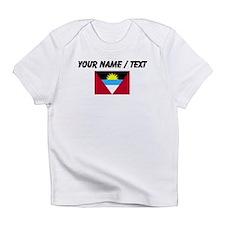 Custom Antigua and Barbuda Flag Infant T-Shirt
