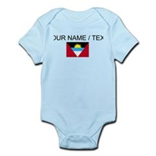 Custom Antigua and Barbuda Flag Body Suit