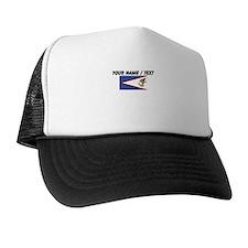 Custom American Samoa Flag Trucker Hat