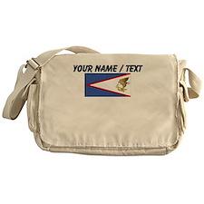 Custom American Samoa Flag Messenger Bag