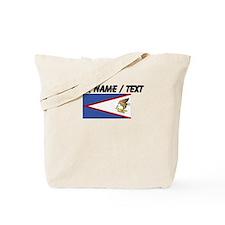 Custom American Samoa Flag Tote Bag