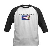Custom American Samoa Flag Baseball Jersey