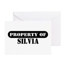 Property of Silvia Greeting Cards (Pk of 10)