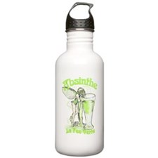 Absinthe Fairy With Glass Water Bottle