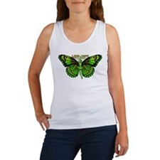 Green Fairy Wings Spread Women's Tank Top