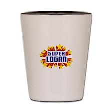 Logan the Super Hero Shot Glass