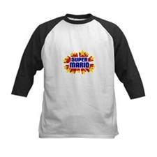 Mario the Super Hero Baseball Jersey