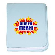 Mekhi the Super Hero baby blanket
