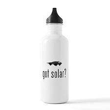 Solar Powered Car Water Bottle