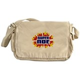 Noe the Super Hero Messenger Bag