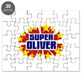 Oliver the Super Hero Puzzle
