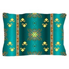 Sun In Winter Blanket Design Pillow Case