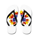 Omari the Super Hero Flip Flops