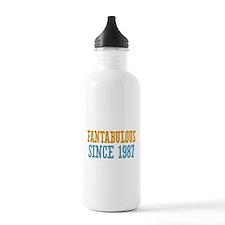 Fantabulous Since 1987 Sports Water Bottle