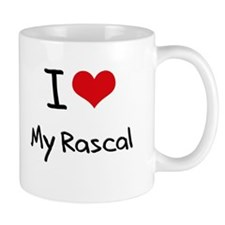 I Love My Rascal Mug