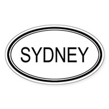 Sydney Oval Design Oval Decal